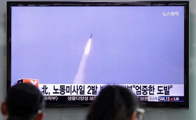 ООН със санкции за КНДР, Северна Корея пак изстреля ракети