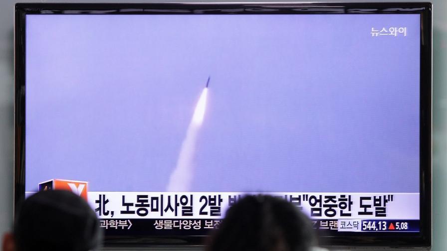 """КНДР """"приветства"""" папата с балистични ракети"""