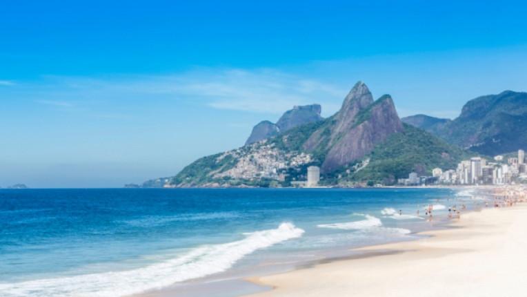 плаж море Рио