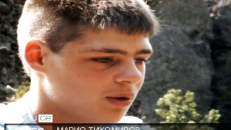 Марио - момчето, което спаси човешки живот два пъти