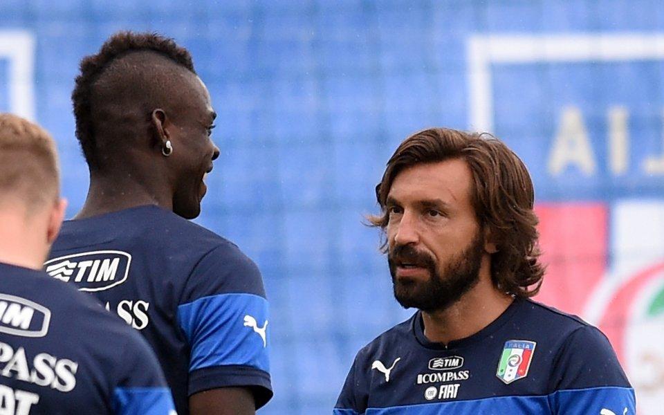 Андреа Пирло заменя контузения Бонавентура в състава на Италия