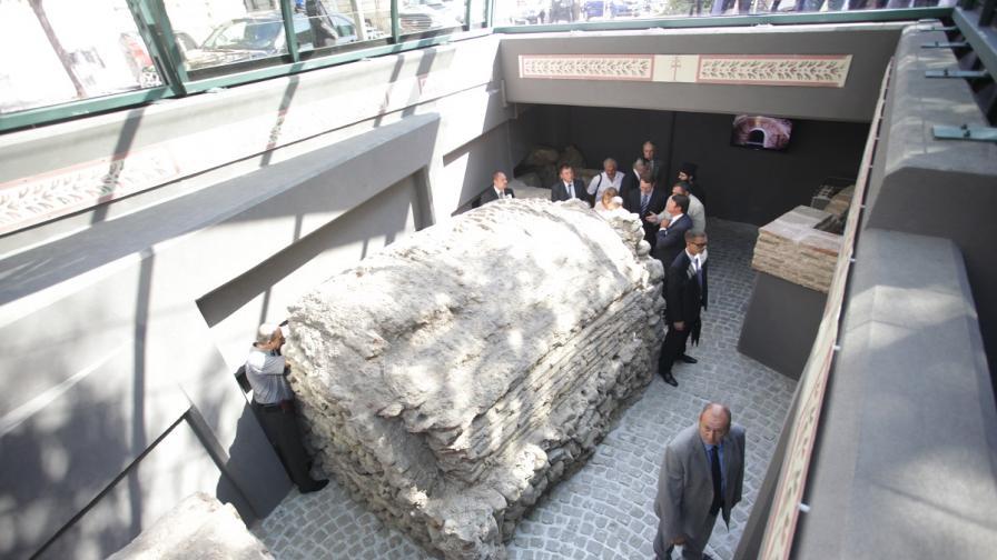 Гробницата на Хонорий в София отвори врати за посетители