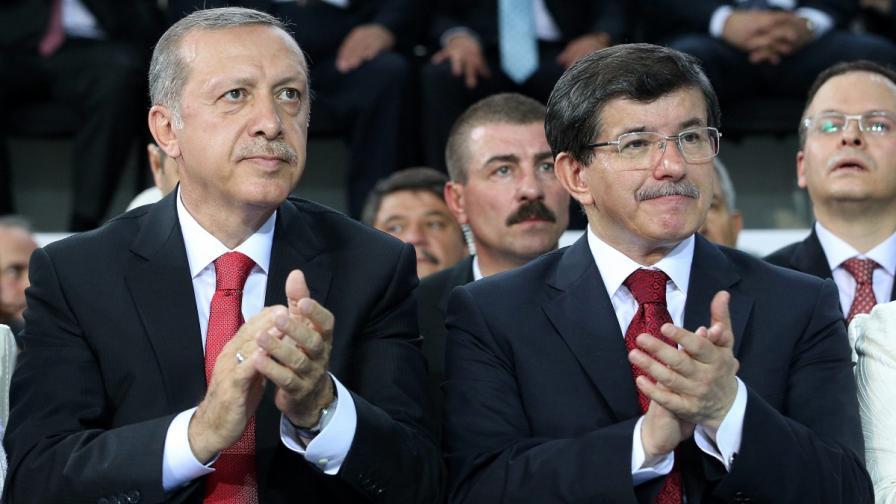 Ердоган и Давутоглу
