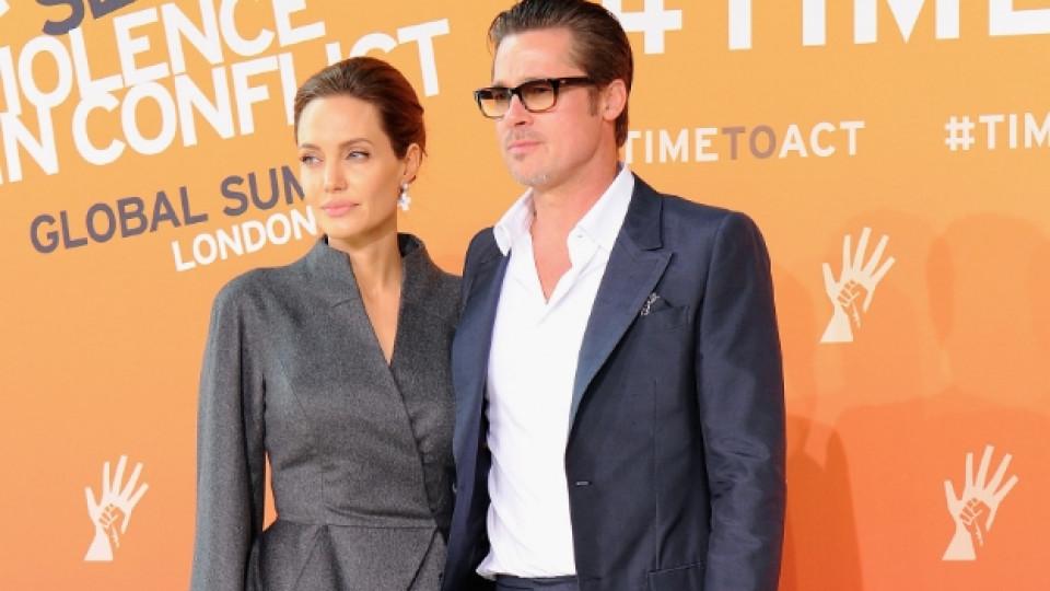 Подробности за сватбата на Брад Пит и Анджелина Джоли