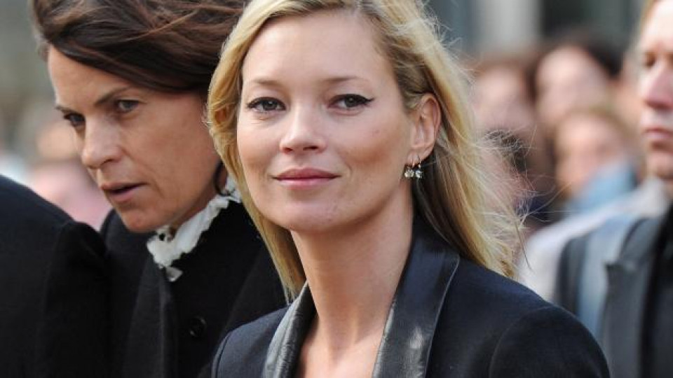 Кейт Мос вече 10 години е рекламно лице на Rimmel London