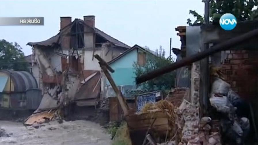 Берковица: Бедствено положение заради наводненията
