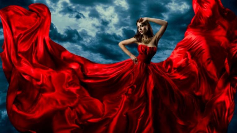 червено страст