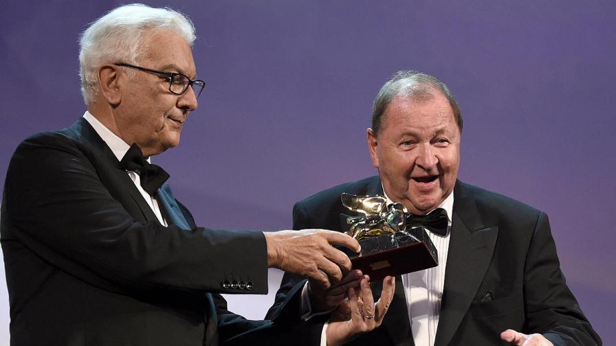 Рой Андерсон получава наградата