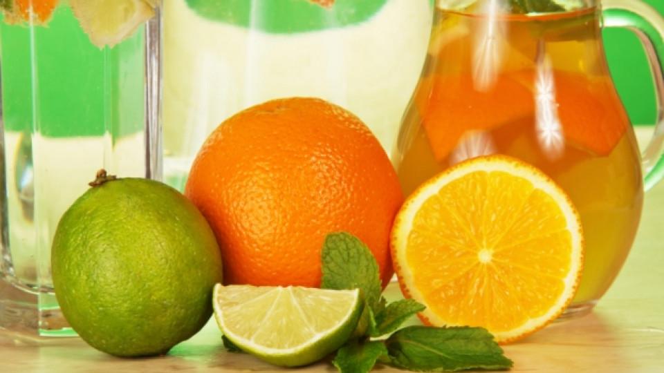 Натурална напитка за плосък корем