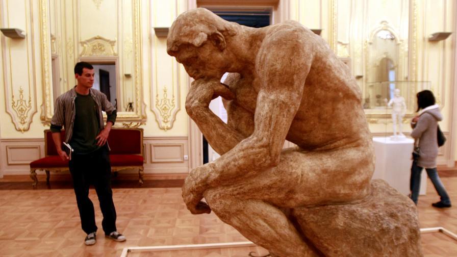 Изложбата на Роден в София ще остане само до 14 септември