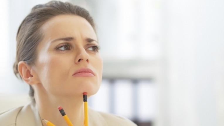 жена объркване мисъл