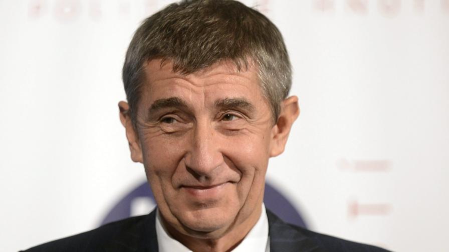 """Милиардерът Андрей Бабиш, собственик на """"Млада фронта днес"""" и финансов министър на Чехия"""