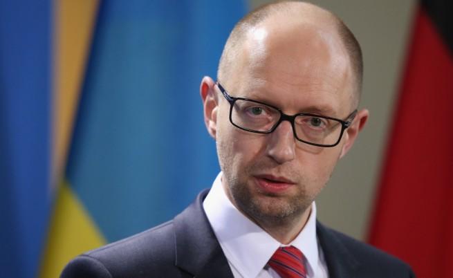 Яценюк: Путин иска да завземе цяла Украйна