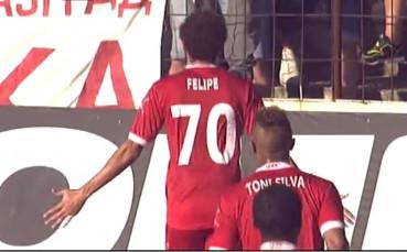 Жуан Фелипе скъса мрежата на Черно море за 1:0