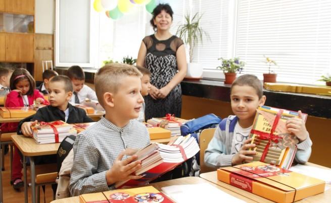 Близо 64 хил. деца тръгват на училище за първи път тази година