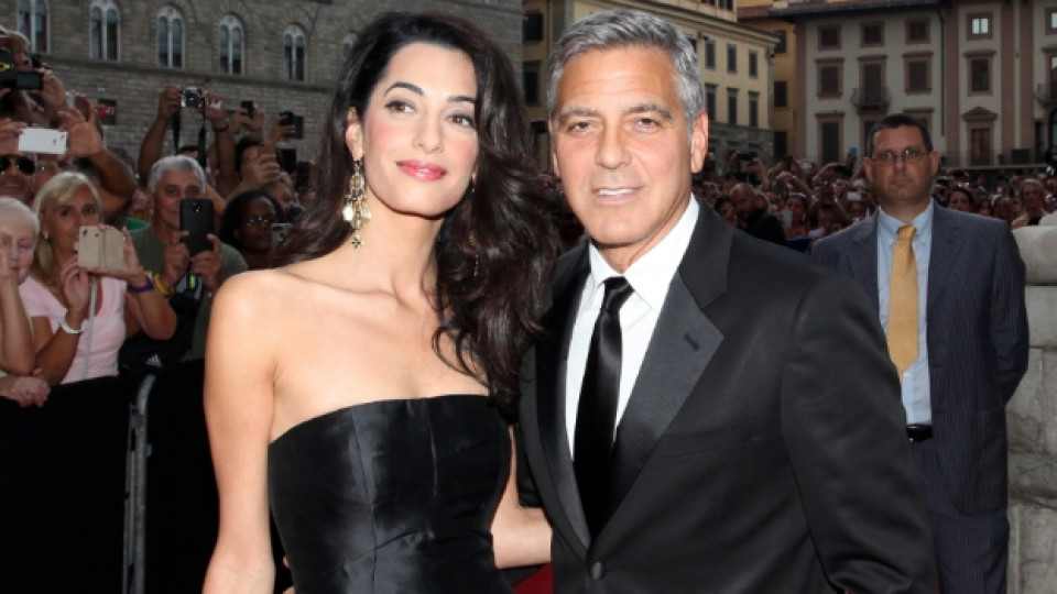 Джордж Клуни и Амал Аламудин