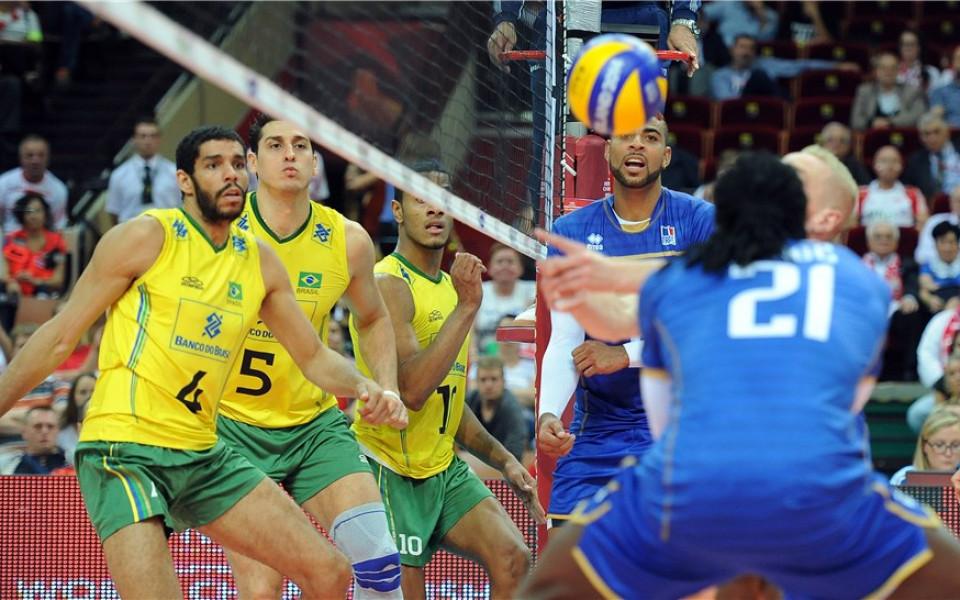 СНИМКИ: Бразилия гони рекордна титла, след спектакъл с Франция