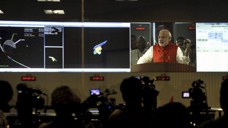 Индия с космически триумф