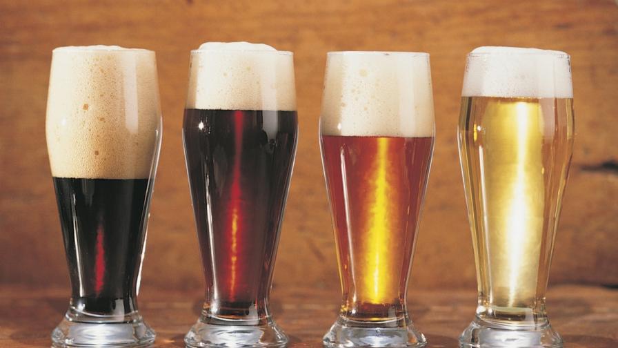 Различни видове бира