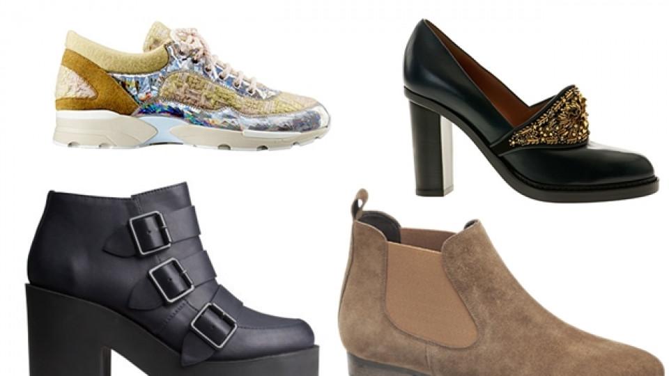Топ тенденциите при есенните обувки 2014