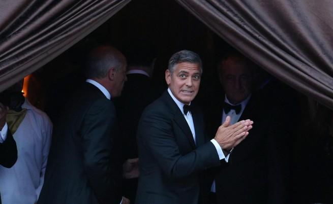 """Казаха ли заветното """"да"""" Клуни и Амал"""
