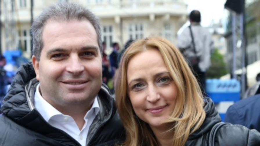 Гроздан Караджов и Цецка Радева