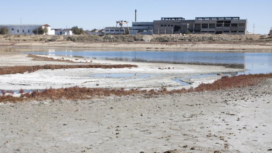 Аралско море е пресъхнало почти напълно