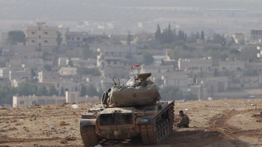 Докато Кобане гори