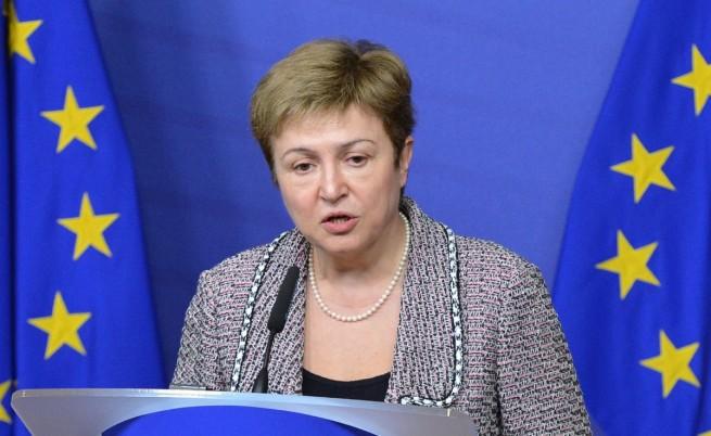 Кристалина Георгиева изненадващо подаде оставка от Европейската комисия