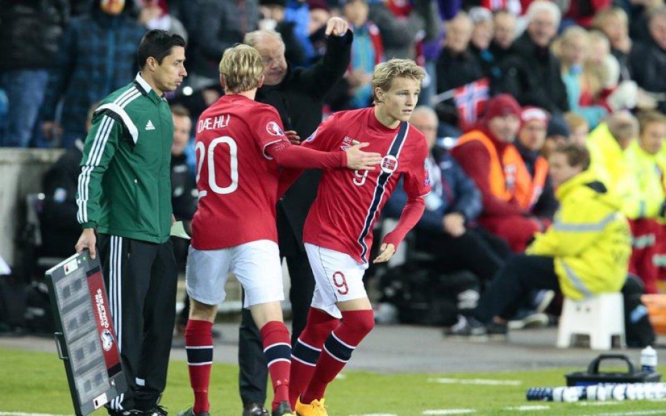 15-годишен норвежец постави рекорд срещу България