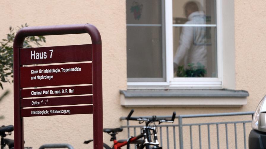 Служител на ООН почина от ебола в Германия