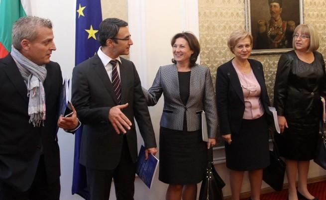 Без съгласие приключиха преговорите между ГЕРБ и РБ