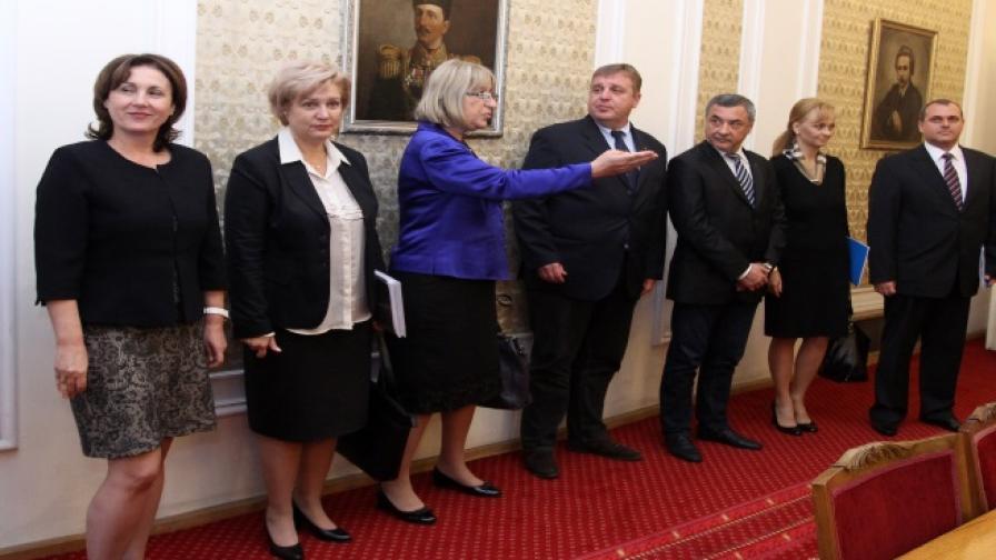 ГЕРБ и Патриотичният фронт постигнаха съгласие за бъдещия кабинет