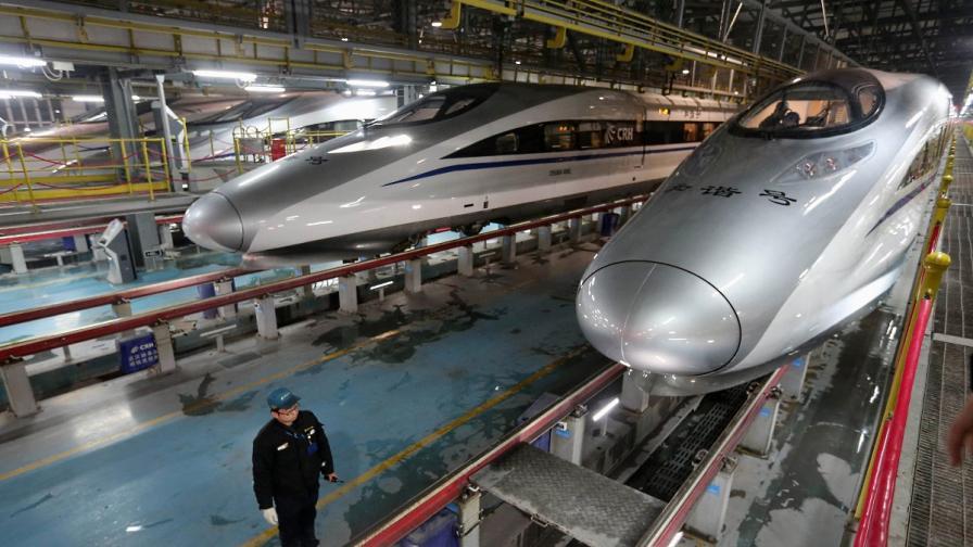 Китай и Русия обмислят високоскоростна жп линия между Пекин и Москва