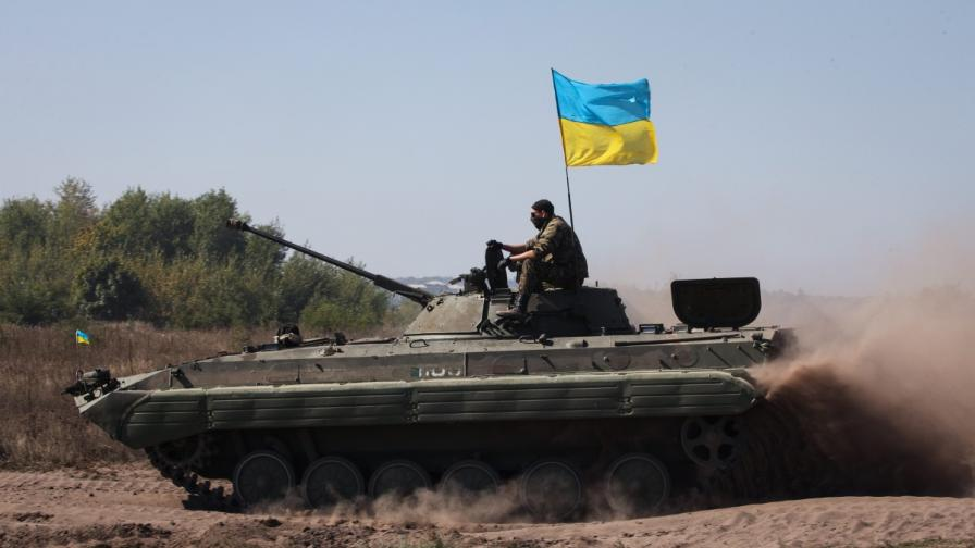 Единайсет украински войници са изчезнали в Луганска област