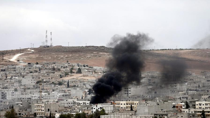 В Кобане се водят най-ожесточените от няколко дни боеве