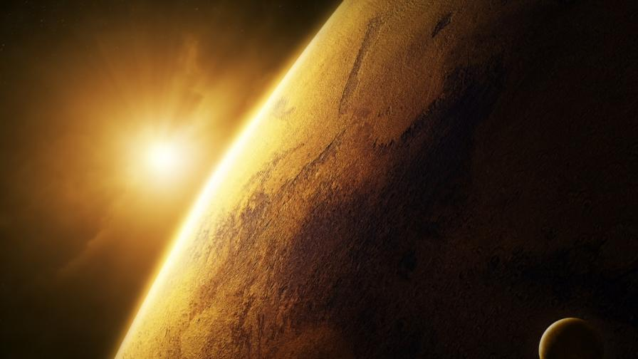 """Кометата Сайдинг-Спринг премина """"на косъм"""" от Марс"""
