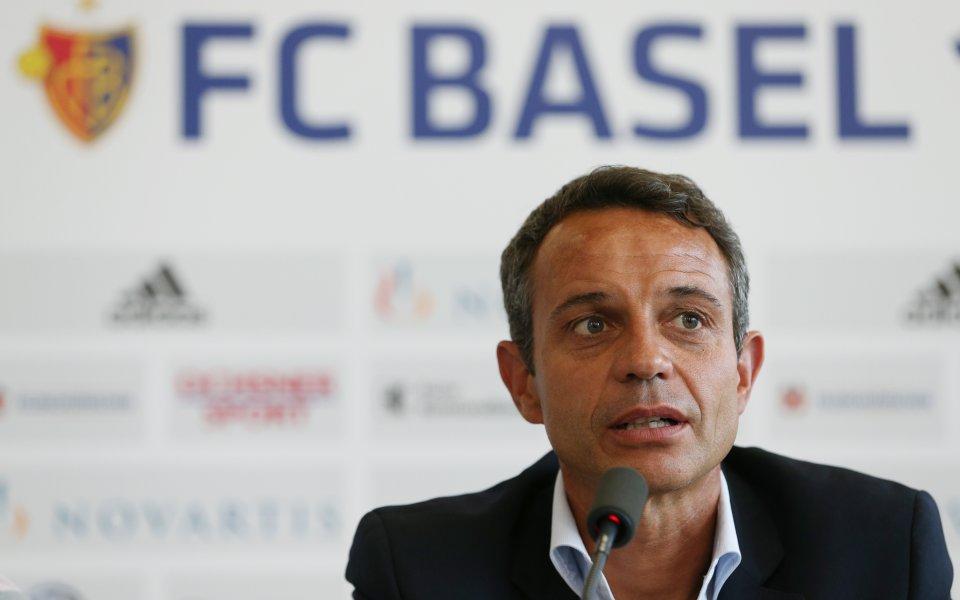 Босът на Базел: Ще бъде много трудно, знаем какво ни очаква с Лудогорец