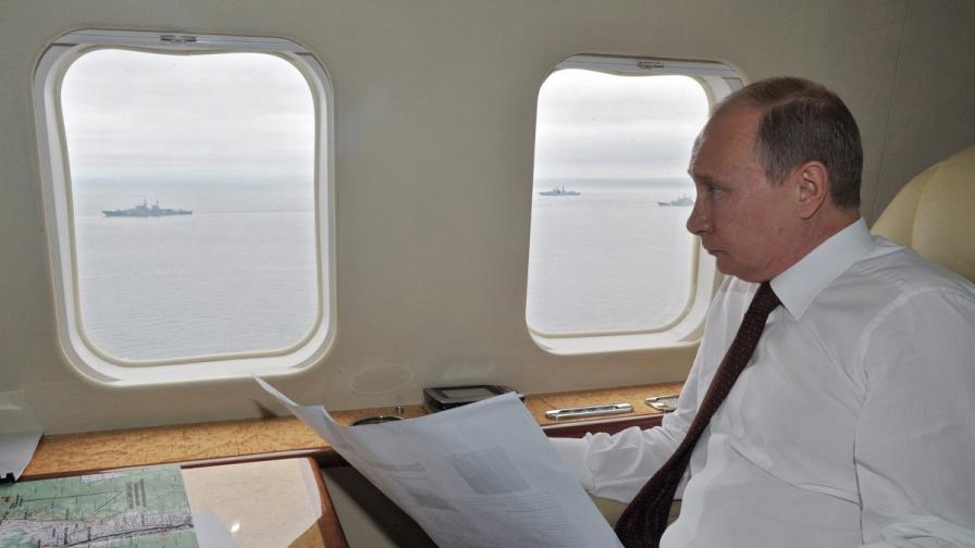 """В. """"Телеграф"""": Путин влече Запада в мътни води"""