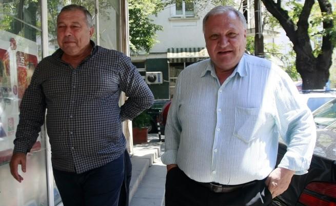 Евгений Узунов и Димитър Дъбов