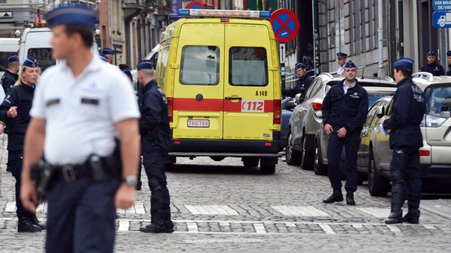 Обвиняем за тероризъм в Белгия опитал да избяга
