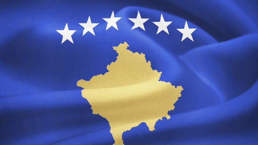 Флагът на Косово