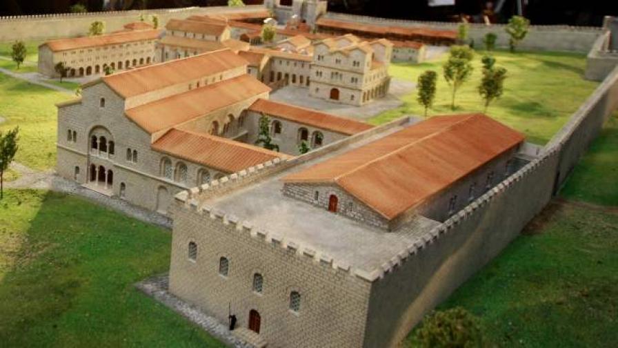 Откриха Източната порта на Велики Преслав