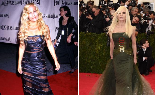 Преди и сега: Донатела през далечната 1999 г. и през 2014 г.