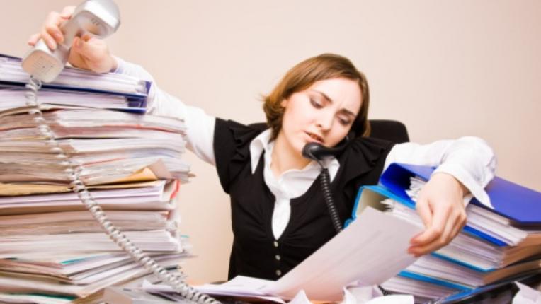 работохолизъм напълняване офис липса на време