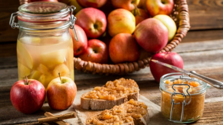 ябълки сладко ябълка мармалад