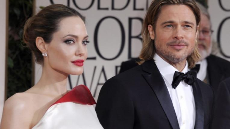 Анджелина и Брад бяха посочени като най стилната двойка по