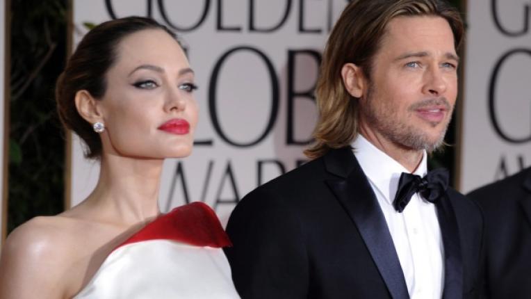 Двойката по време на тазгодишните награди Златен глобус които се