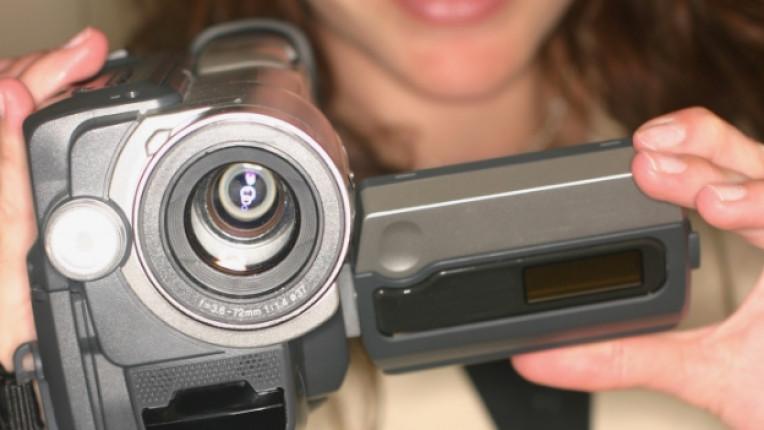 жена камера видео