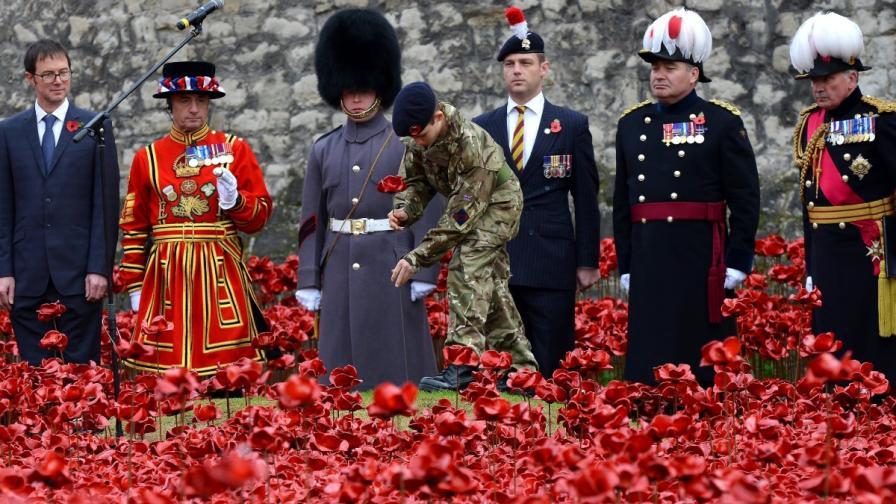 Европа отбеляза Деня на примирието